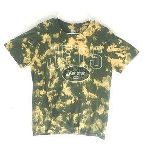 Custom New York Jets tiedye T-shirt